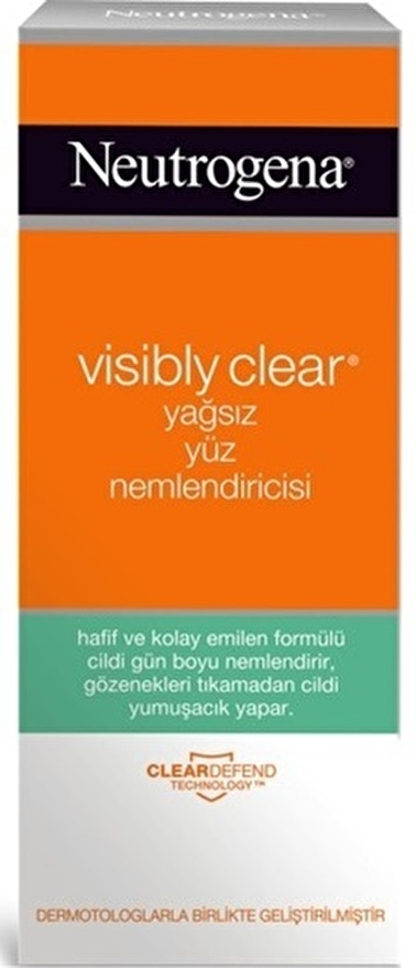 Neutrogena Visibly Clear Yağsız Ne ml Endirici 50 ml Renksiz